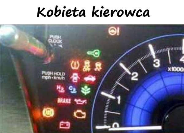 Kobieta kierowca