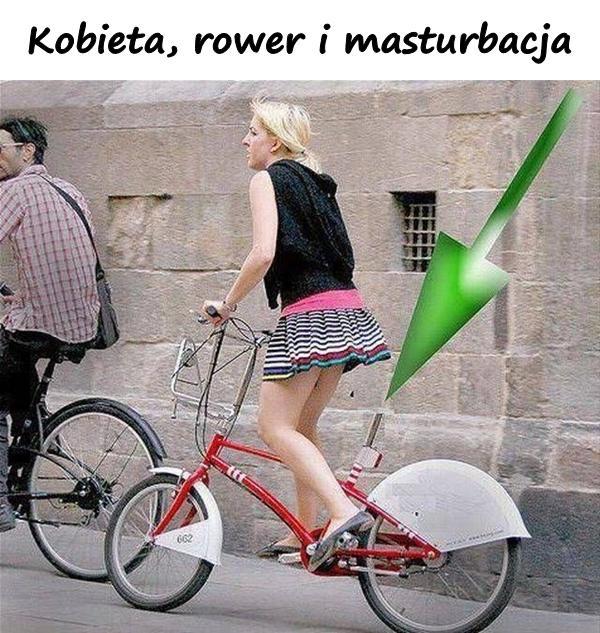 Kobieta, rower i masturbacja