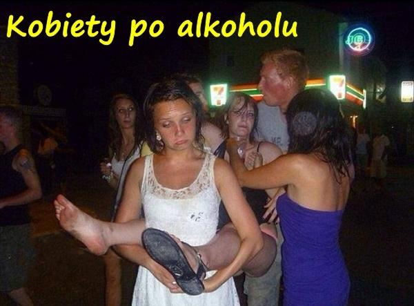 Kobiety po alkoholu