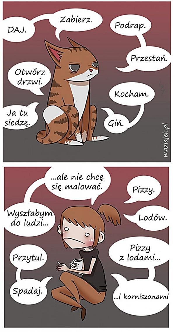 Kobiety są jak koty