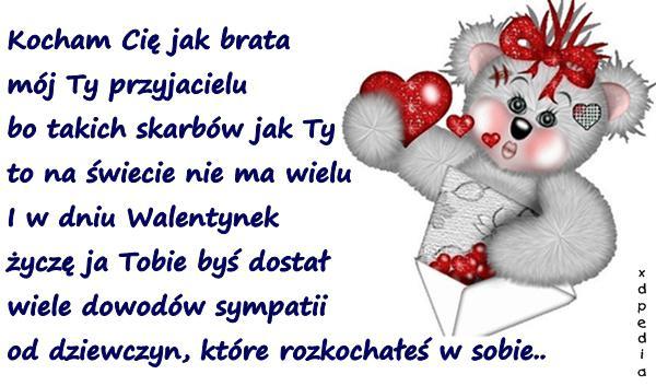 Wiersze Mem Wierszyki Na Walentynki Kociaki Kotki
