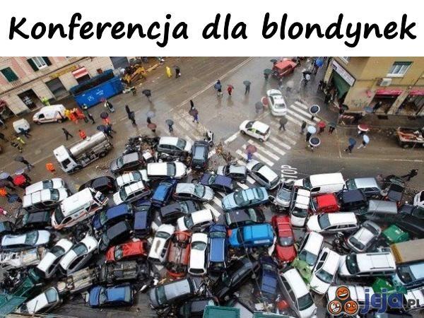 Konferencja dla blondynek