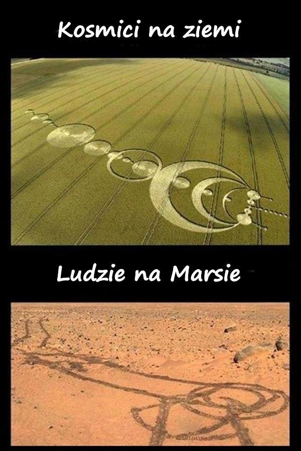 Kosmici na ziemi a ludzie na Marsie