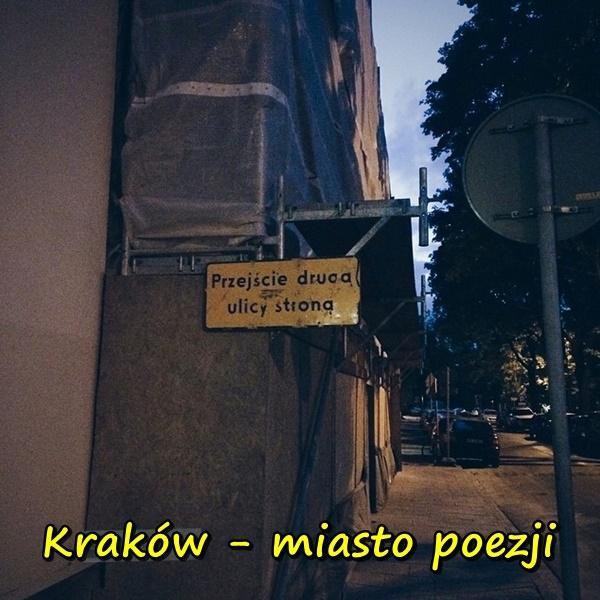 Kraków - miasto poezji