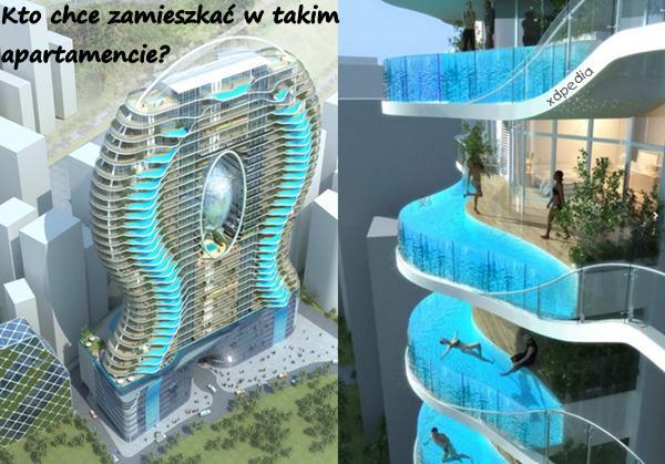 Kto chce zamieszkać w takim apartamencie? Tagi: kwejk, memy, mem, woda, basen, apartamenty, aquapark, apartament.