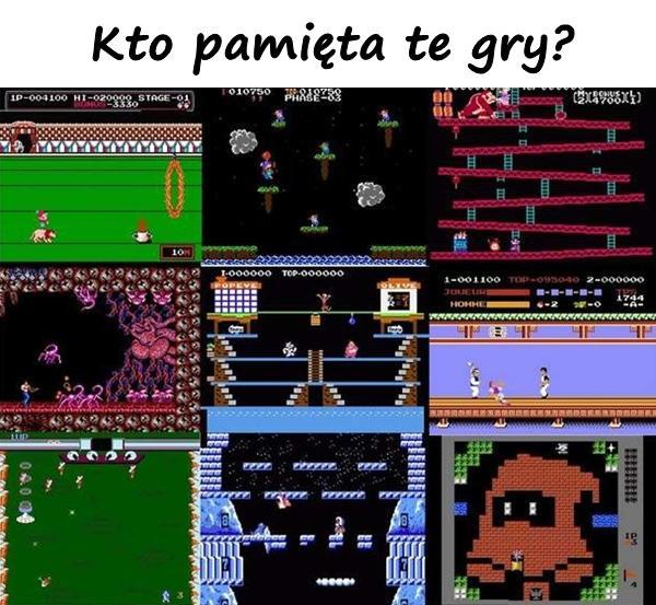 Kto pamięta te gry?