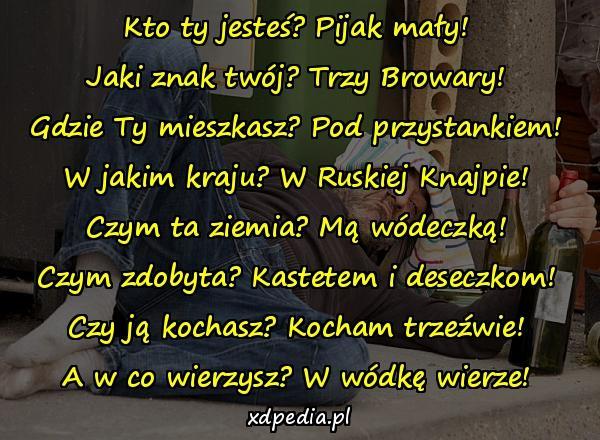 Memy śmieszne Obrazki Wiersz Wódka Xdpedia 295597