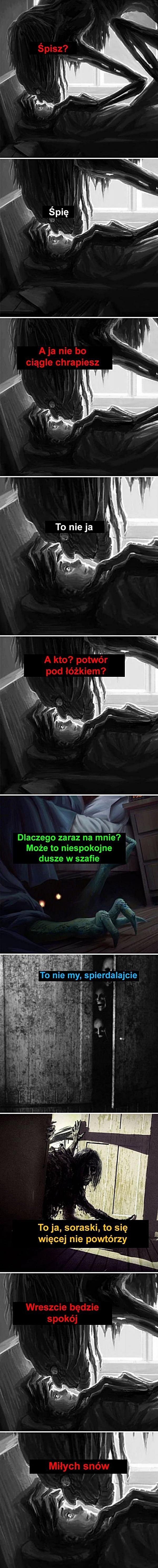 Ktoś tu chrapie podczas spania?