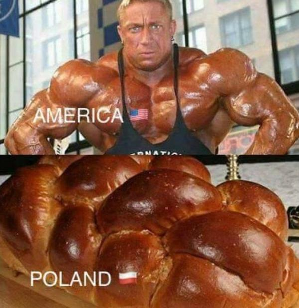 Kulturystyka - Ameryka vs. Polska