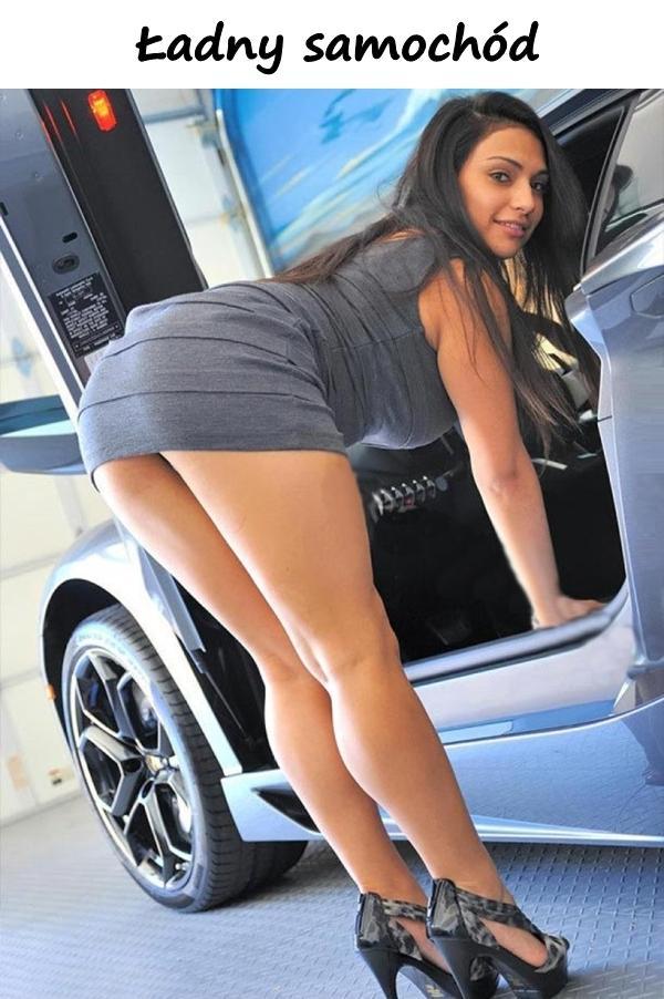 Ładny samochód