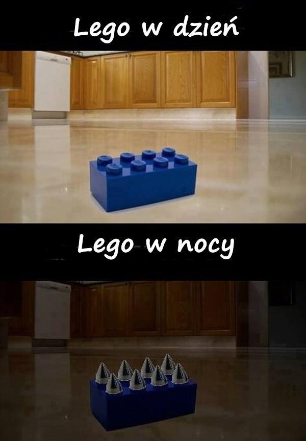 Lego - dzień a noc