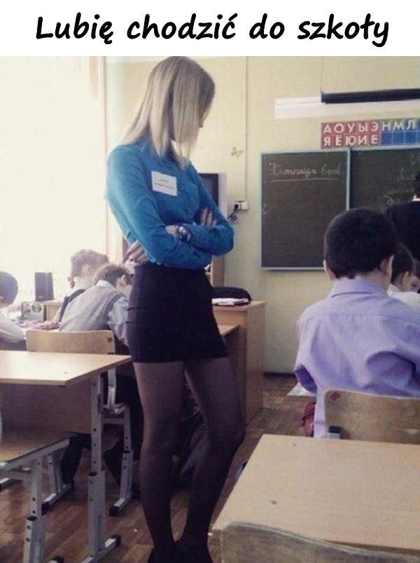 Lubię chodzić do szkoły