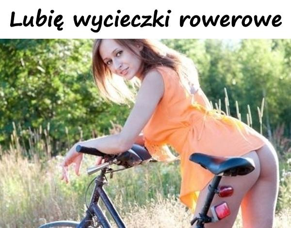 Lubię wycieczki rowerowe