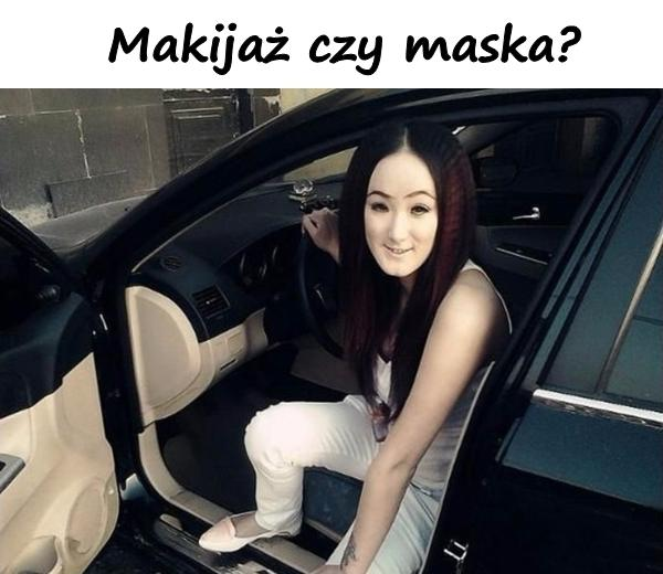 Makijaż czy maska?