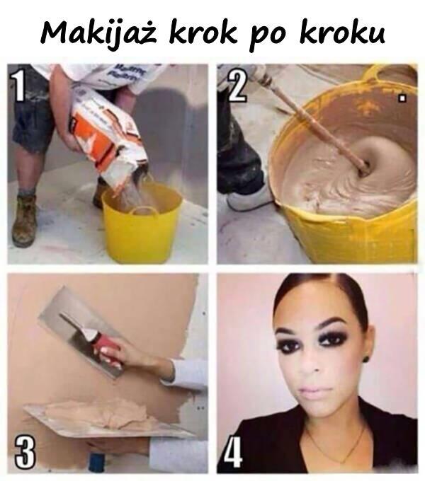Makijaż krok po kroku