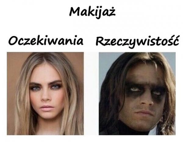Makijaż - oczekiwania a rzeczywistość