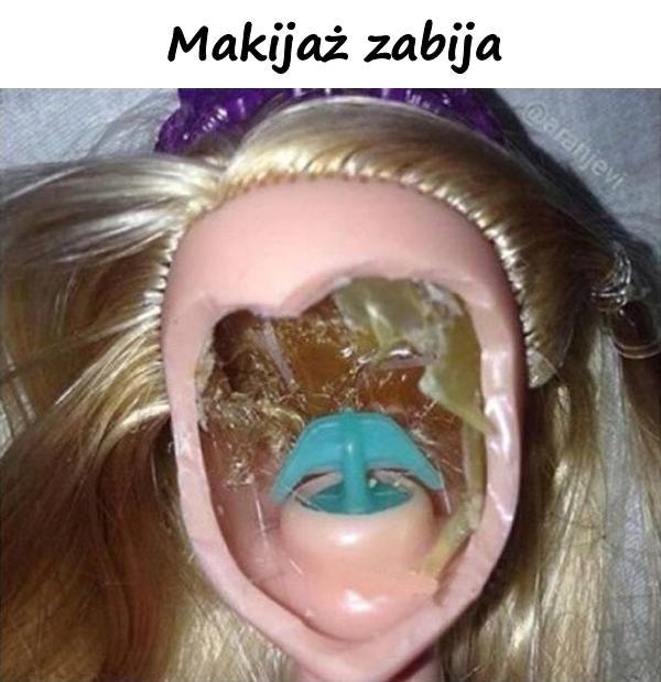 Makijaż zabija