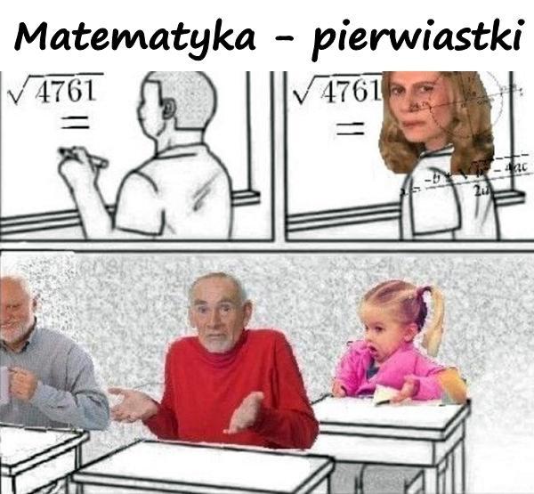 Matematyka - pierwiastki