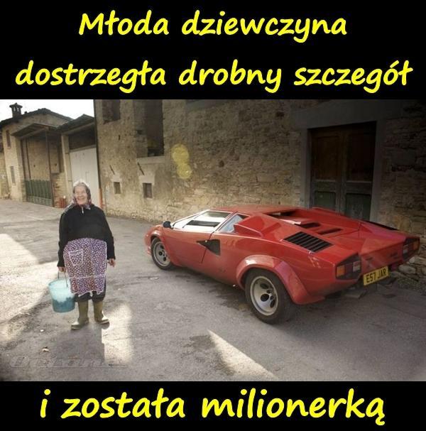 Młoda dziewczyna dostrzegła drobny szczegół i została milionerką.