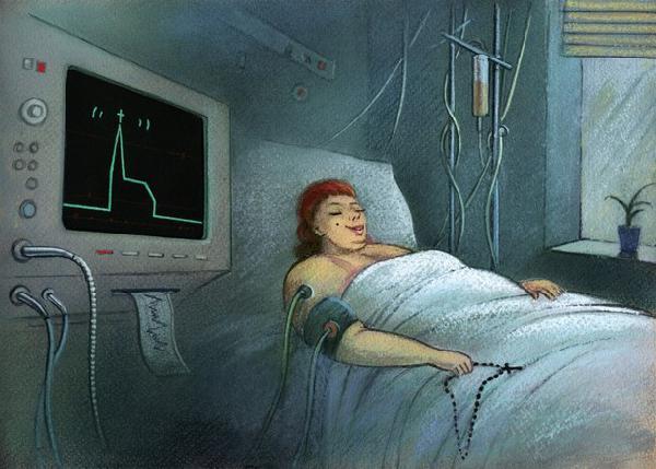 Moher w szpitalu