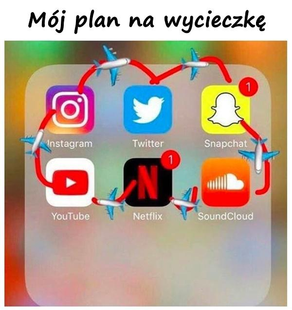 Mój plan na wycieczkę