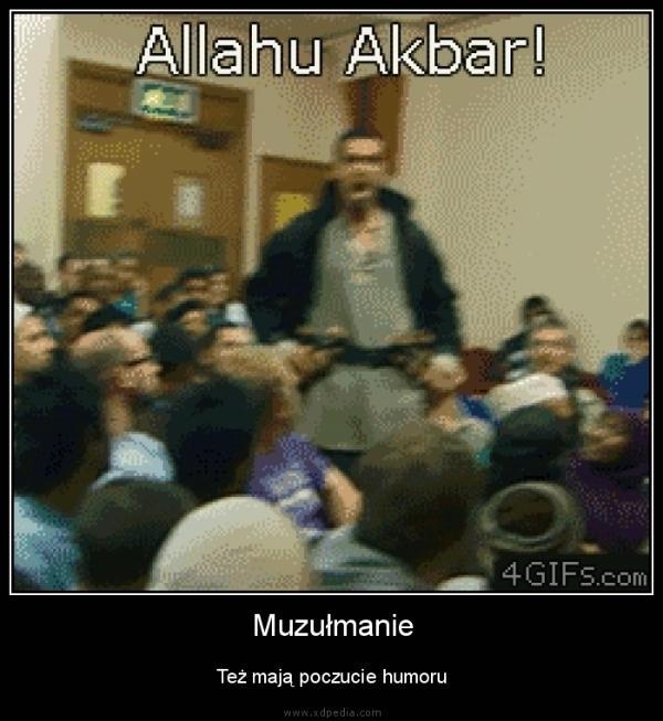 Muzułmanie Też mają poczucie humoru