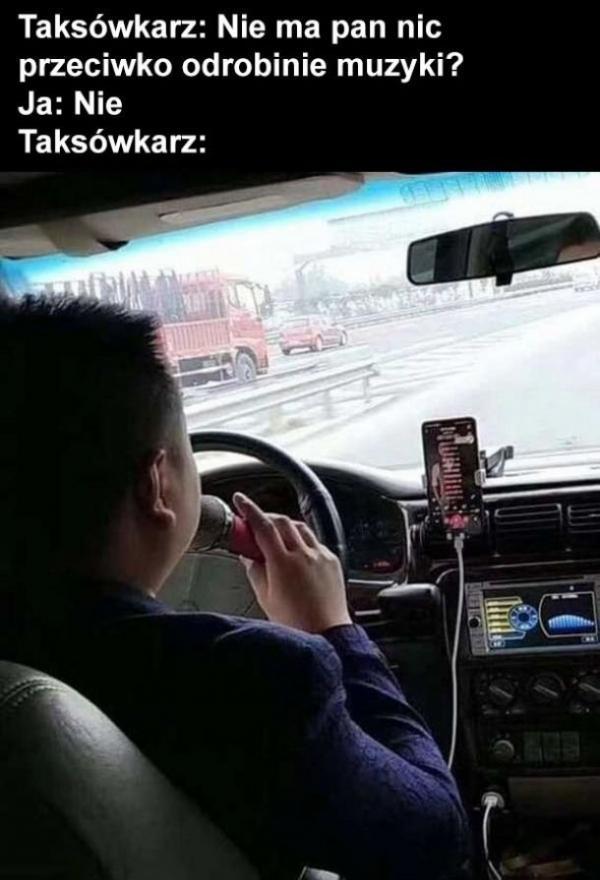 Muzykalny taksówkarz