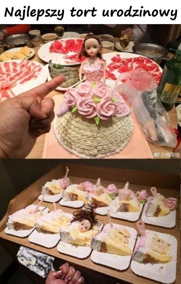 Najlepszy tort urodzinowy