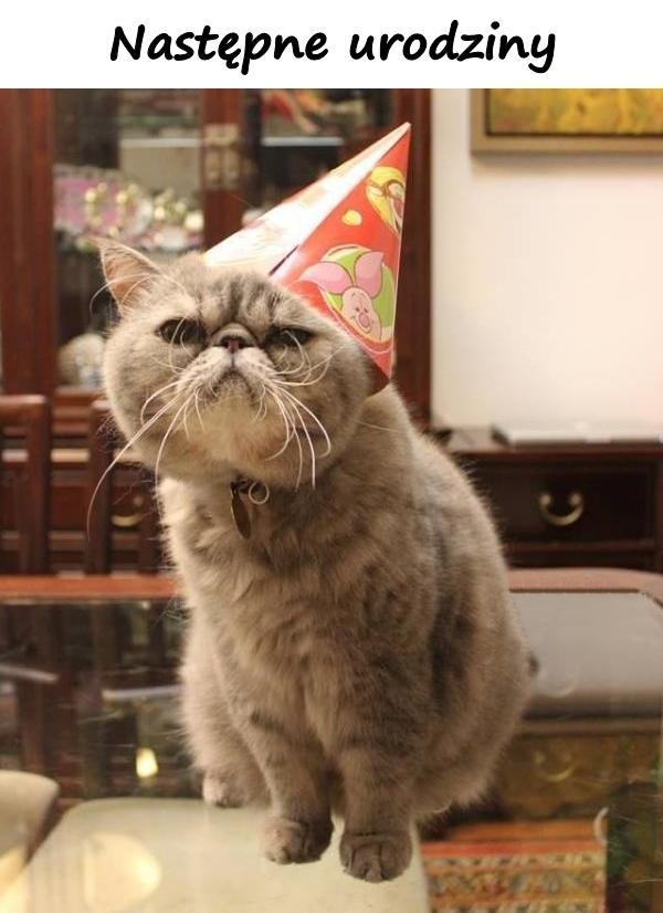 Następne urodziny