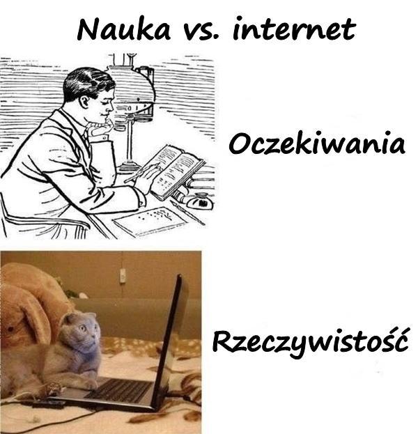 Nauka vs. internet
