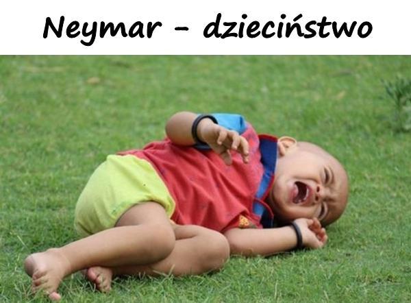 Neymar - dzieciństwo