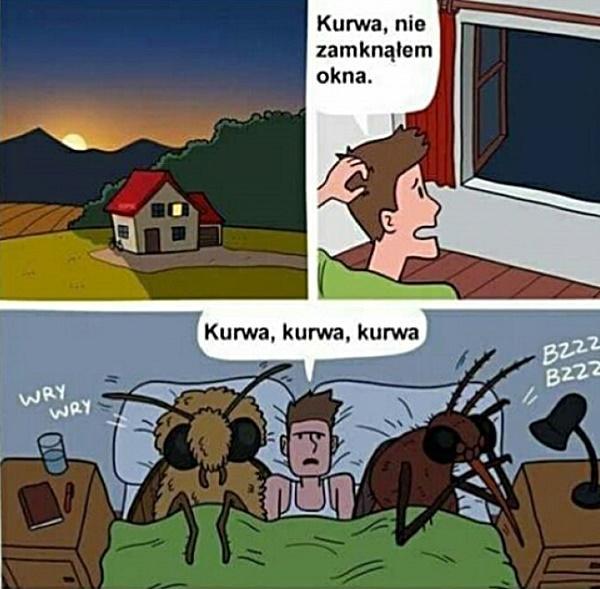 Nie zamknąłem okna