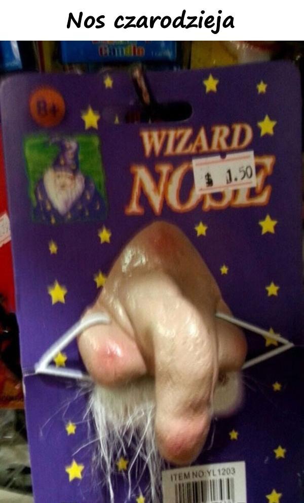 Nos czarodzieja