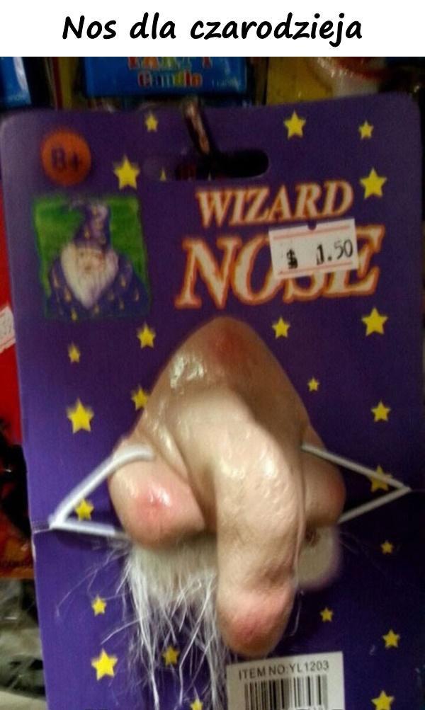 Nos dla czarodzieja