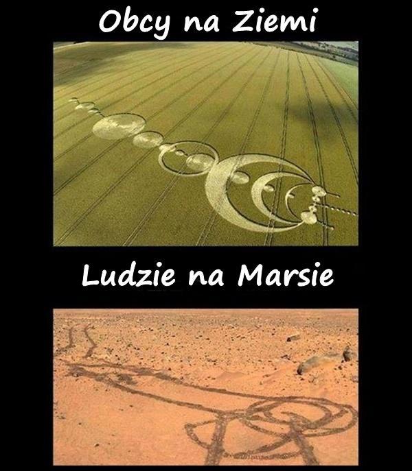 Obcy na Ziemi vs. Ludzie na Marsie