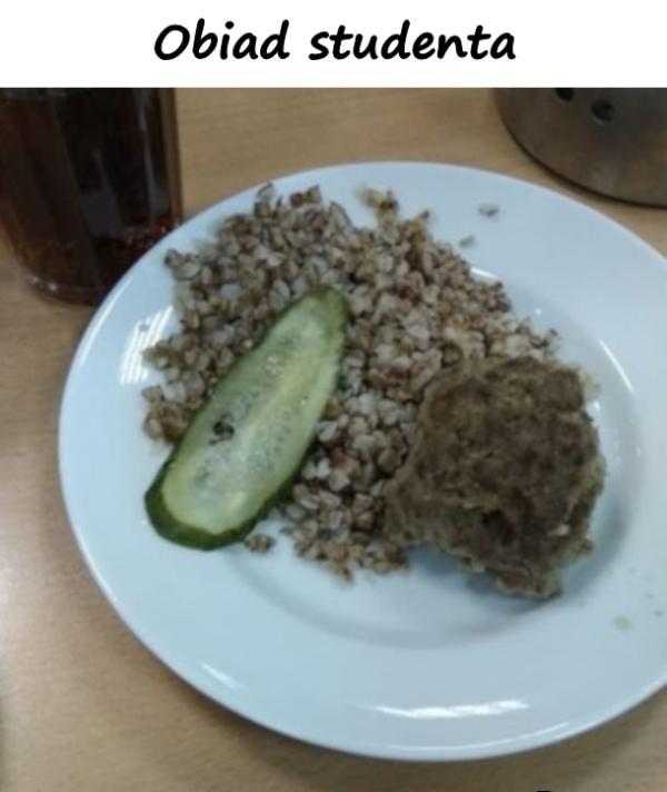 Obiad studenta