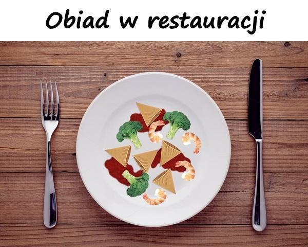 Obiad w restauracji