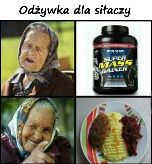 Odżywka dla siłaczy