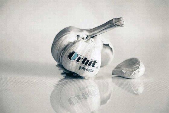 Orbit garlic fresh:)