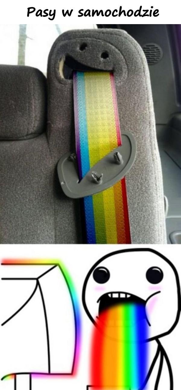 Pasy w samochodzie