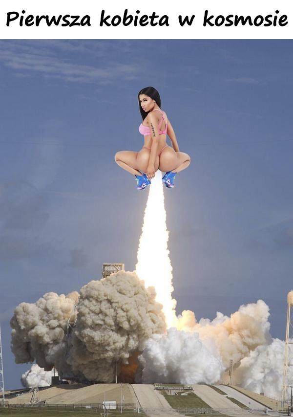 Pierwsza kobieta w kosmosie