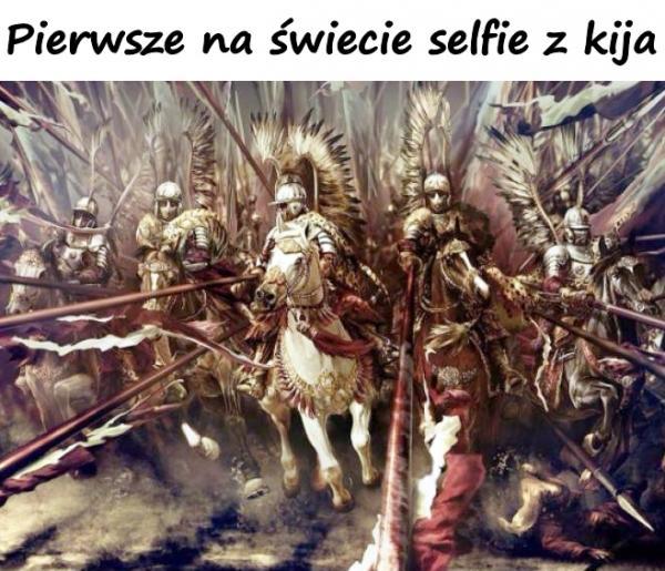 Pierwsze na świecie selfie z kija