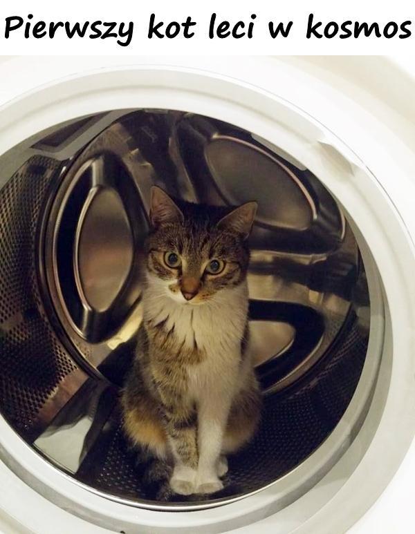 Pierwszy kot leci w kosmos