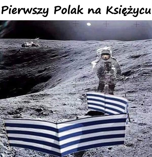 Pierwszy Polak na Księżycu