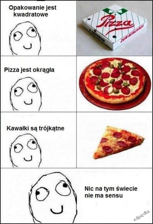 Pizza - nic na tym świecie nie ma sensu