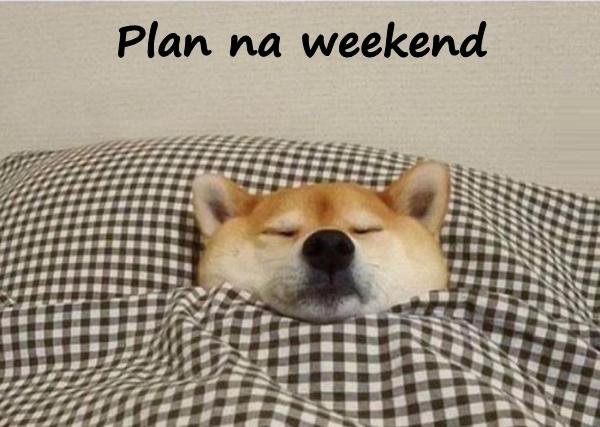 Plan na weekend