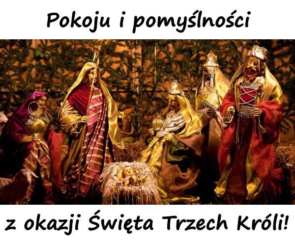 Pokoju i pomyślności z okazji Święta Trzech Króli!
