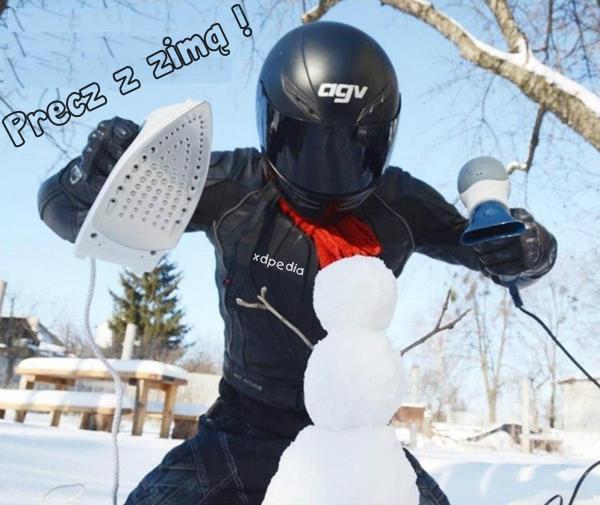 Precz z zimą !