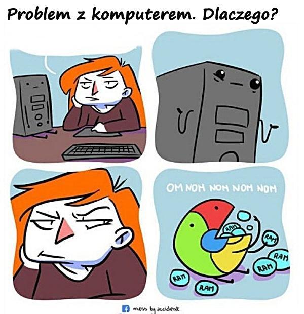Problem z komputerem. Dlaczego?