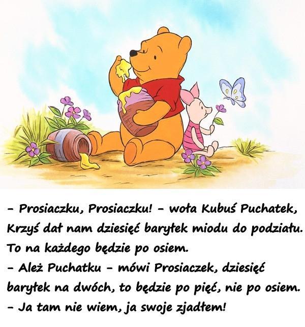 Prosiaczek Mem Cytat Cytaty Obrazki Besty Serduszko